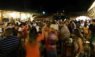 Nos feriados, movimento é intenso no shopping Portal da Serra