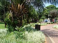 Praça na Área Central