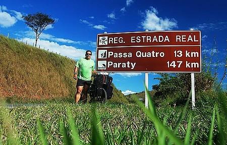 MG 158 - Chegando a Passa Quatro. 12º dia de pedal na Estrada Real