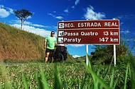 Chegando a Passa Quatro. 12º dia de pedal na Estrada Real