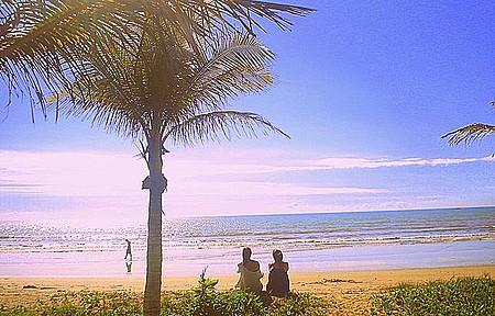 Praia Maria-Neném - Sossego e beleza.!