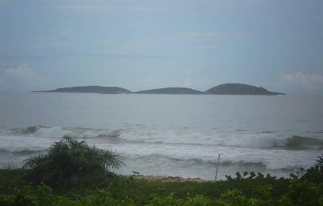 Vista da Três Ilhas. Uma bela paisagem.