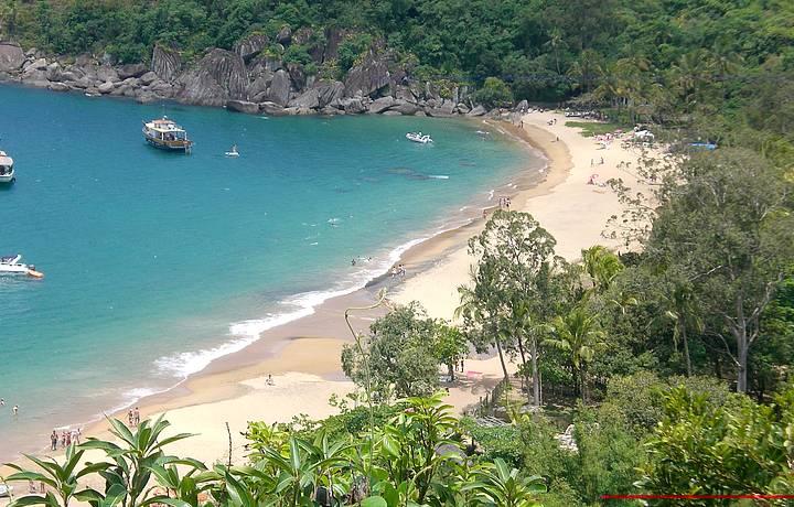 Jabaquara uma praia  paradisíaca em Ilhabela