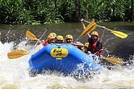 Rafting nas corredeiras do rio Paranhana!!