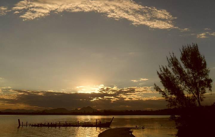 Lagoa de Araruama - Pôr do Sol