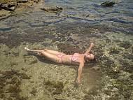 Praia Coberta de Corais, na Mare Baixa = Praia de Carneiros