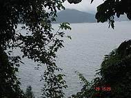 Vista  da trilha para o mar do Cedro