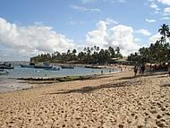 Uma praia calma e linda!