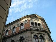 Prédio histórico restaurado.