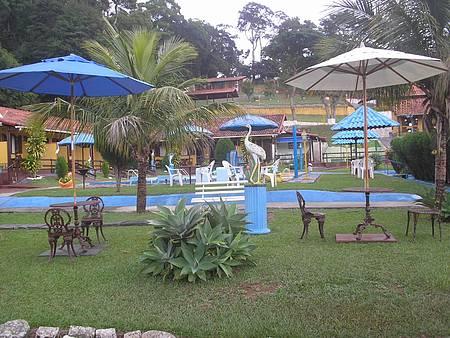 Pousada Alegria - Bar na piscina.