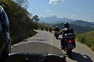 Belas paisagens acompanham todo o percurso