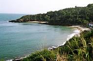 As praias da Azeda e da Azedinha são umas das mais tranquilas de Búzios