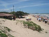 Final de semana na praia do Ul�