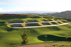 Golf Club: Aberto ao público, oferece belas paisagens<br>