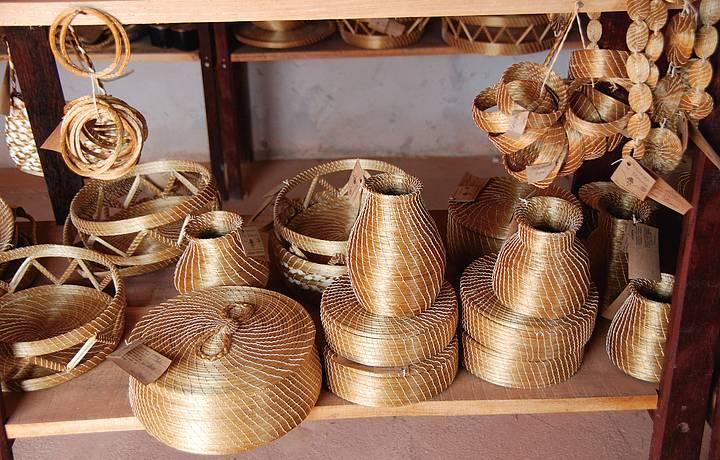 Adesivo Infantil De Parede ~ Comprar artesanato em capim dourado, Jalap u00e3o Férias Brasil