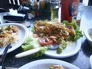 Prato com camarão. Uma delícia