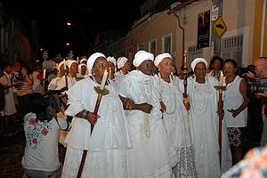 Festa da Boa Morte: Senhoras fazem questão de participar das comemorações -