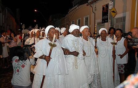 Festa da Boa Morte - Senhoras fazem questão de participar das comemorações
