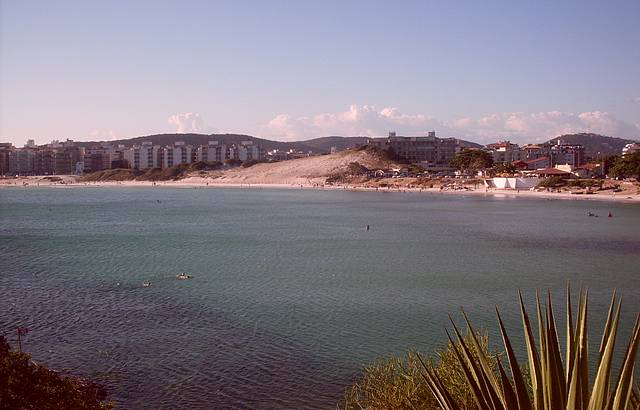 Vista do Forte de São Matheus