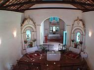 Riqueza de detalhes no interior da Igreja no Centro Histórico