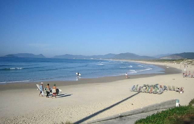 Surfistas na Praia da Joaca