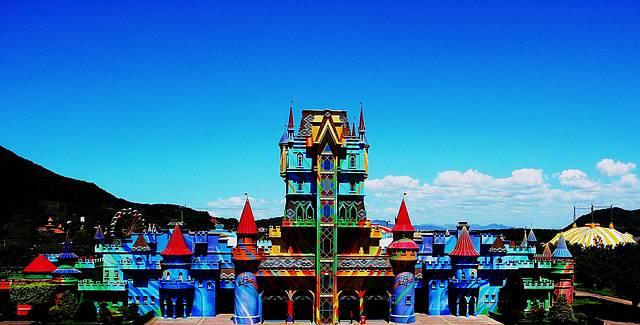 Castelo das Nações dá boas vindas aos visitantes