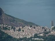 Rio: contraste na zona sul