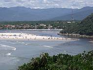 Encontro das Aguas do Rio com o Mar