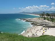 Bela vista descortina várias praias