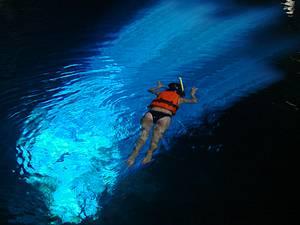 Mergulhar no Poço Azul