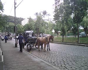 Passear de charrete pelo Centro Histórico