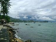 Perequê, bem no centrinho da ilha