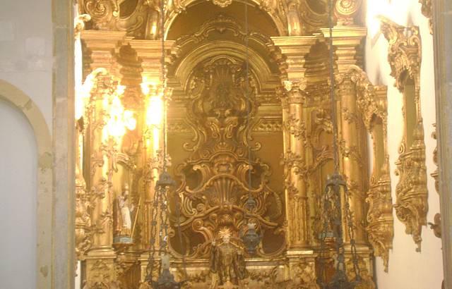 Interior do mosteiro