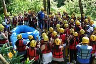 Explicação do Rafting na Serra Gaúcha