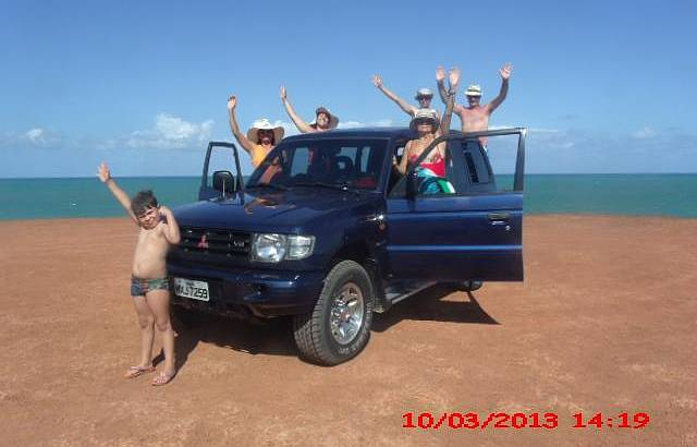 Voltado da praia da Pipa, no Chapad�o
