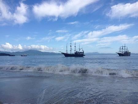 Praia de Canasvieira - Passeio de barco