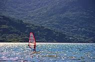 Esportes náuticos na Barra da Lagoa