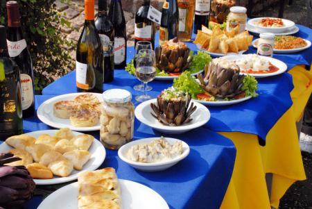 Quando ir - Degustações de alcachofra: destaque na feira