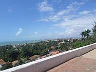 Vista do alto do centro histórico