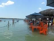 Tranquilidade na lagoa