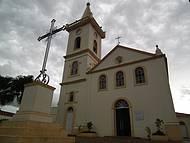 Histórica igreja no centro de Morretes, litoral do Paraná