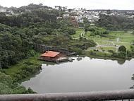 Bela vista do parque Tanguá.