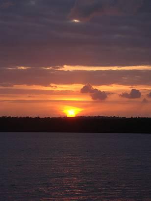 Pôr do sol com bolero de Ravel
