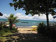 Linda praia em Cabrália