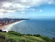 Vista da Praia Brava de Itajaí do Morro do Careca