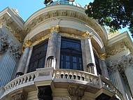 detalhe da belíssima arquitetura do Teatro Municipal do Rio !