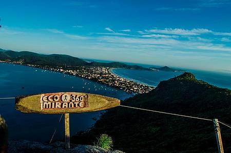 Passear no Mirante Eco 360º - Paisagem privilegiada reúne mar e montanhas