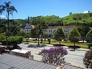Vista da praça