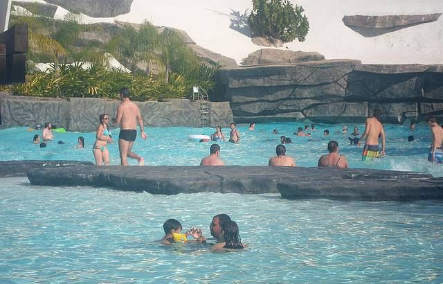 Praia do Cerrado, Hot Park, Rio Quente, GO