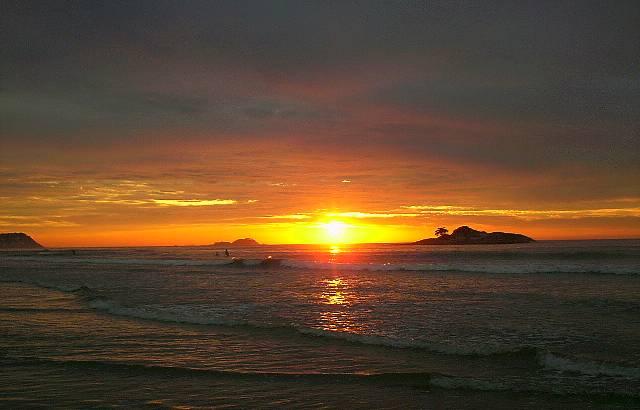 Um nascer do sol maravilhoso!